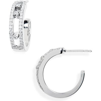 Messika Move Diamond Hoop Earrings