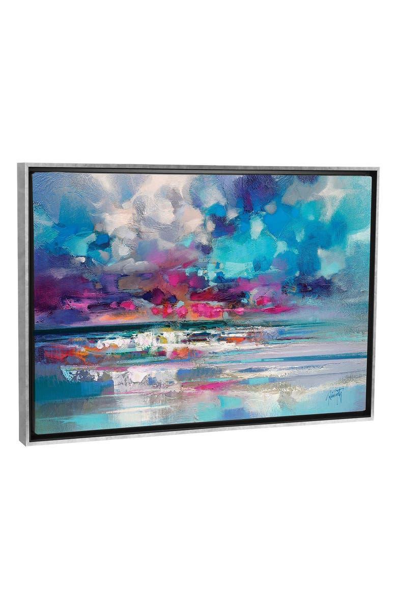 ICANVAS Atlantic Magenta by Scott Naismith Giclée Print Canvas Art, Main, color, BLUE