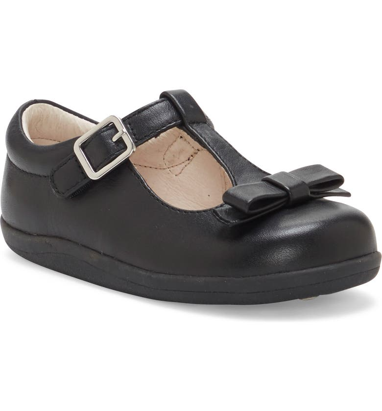 SOLE PLAY Laila Patent T-Strap Mary Jane, Main, color, BLACK