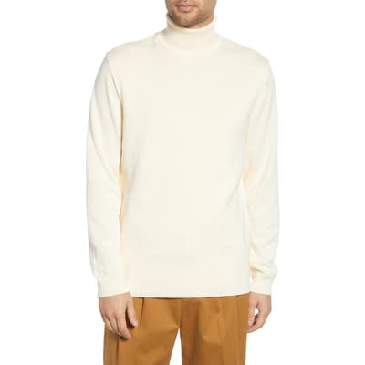 French Connection Regular Fit Turtleneck Sweater, Ivory