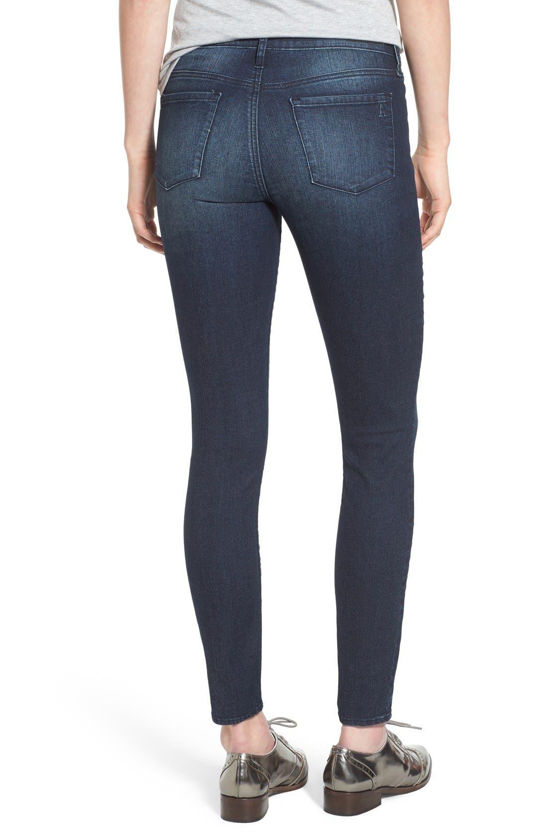 ,                             'Sarah' Skinny Jeans,                             Alternate thumbnail 6, color,                             415