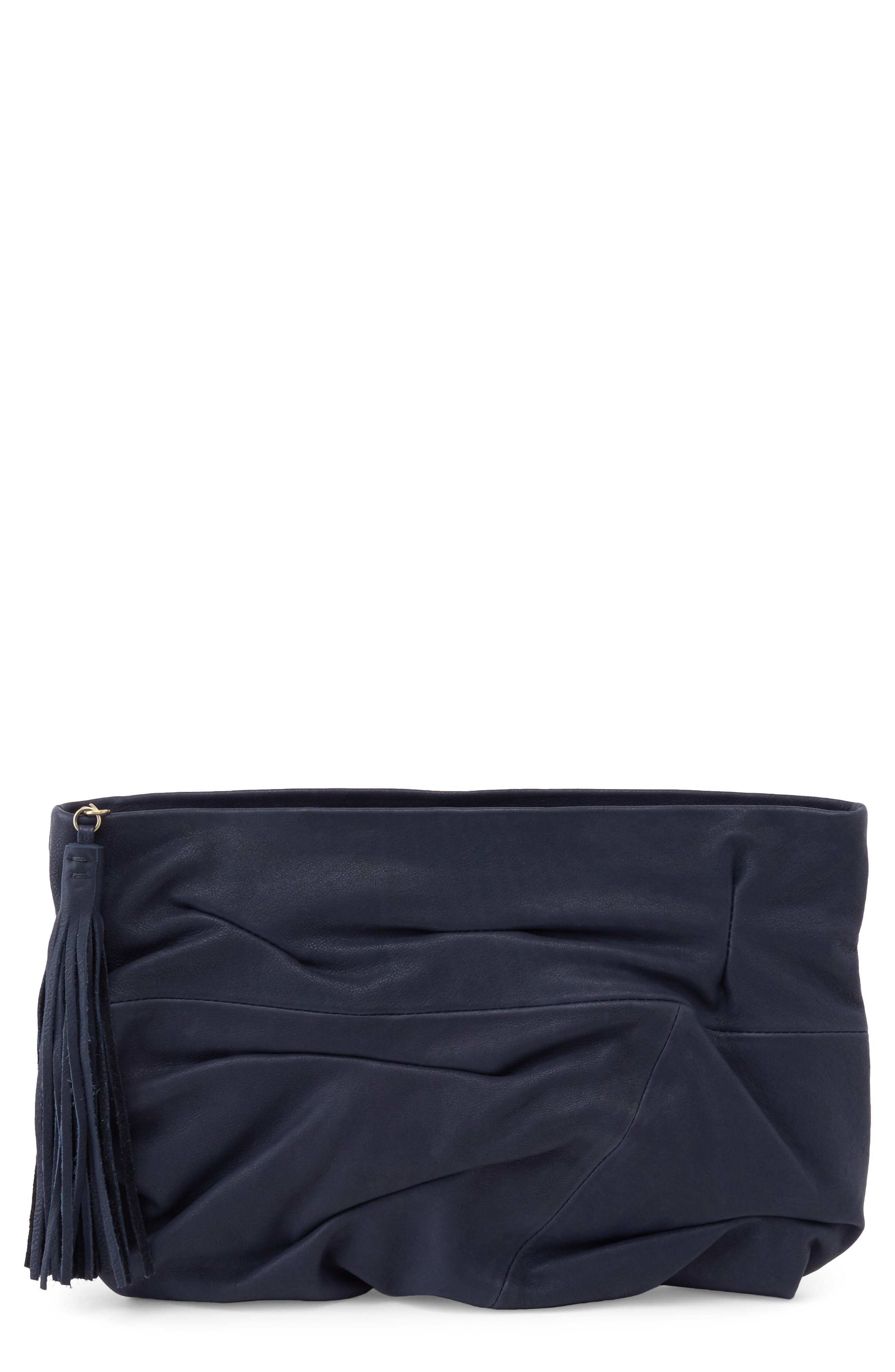 Brave Leather Clutch