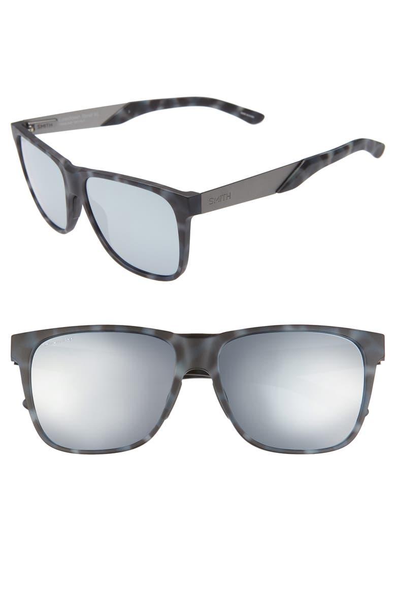 SMITH Lowdown XL Steel 59mm ChromaPop<sup>™</sup> Sunglasses, Main, color, 020