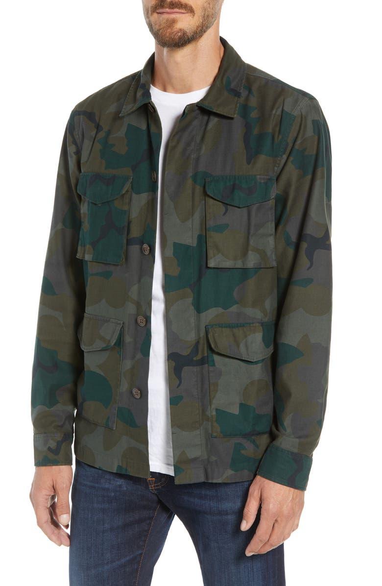 BONOBOS Four-Pocket Slim Fit Military Jacket, Main, color, 301