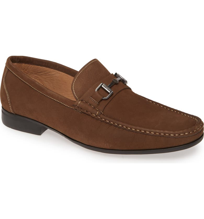 PETER MILLAR Hyperlight Bit Loafer, Main, color, CHOCOLATE