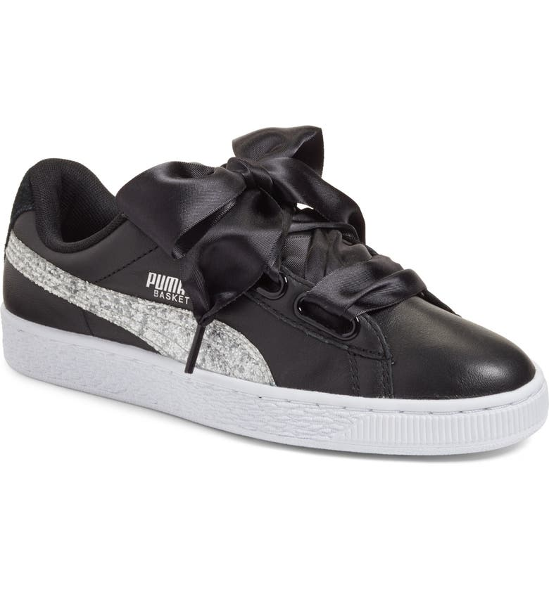 PUMA Basket Heart Sneaker, Main, color, 004