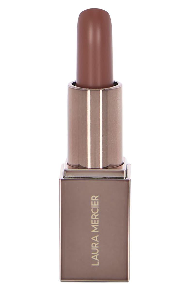LAURA MERCIER Rouge Essential Silky Cream Mini Lipstick, Main, color, BRUN NATUREL