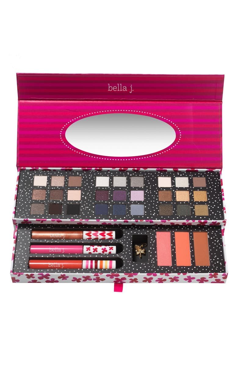 BELLA J . Deluxe Eye, Cheek & Lip Palette, Main, color, 000