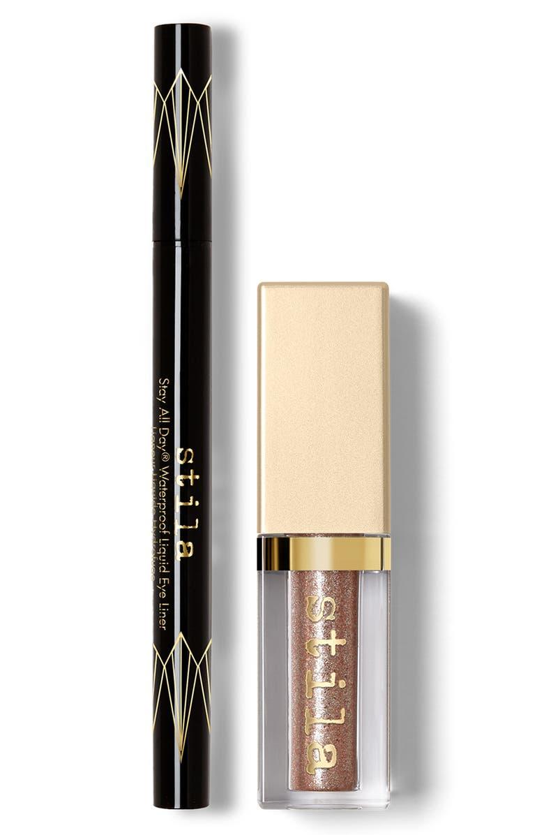 STILA Eyeliner & Liquid Eyeshadow Set, Main, color, NO COLOR