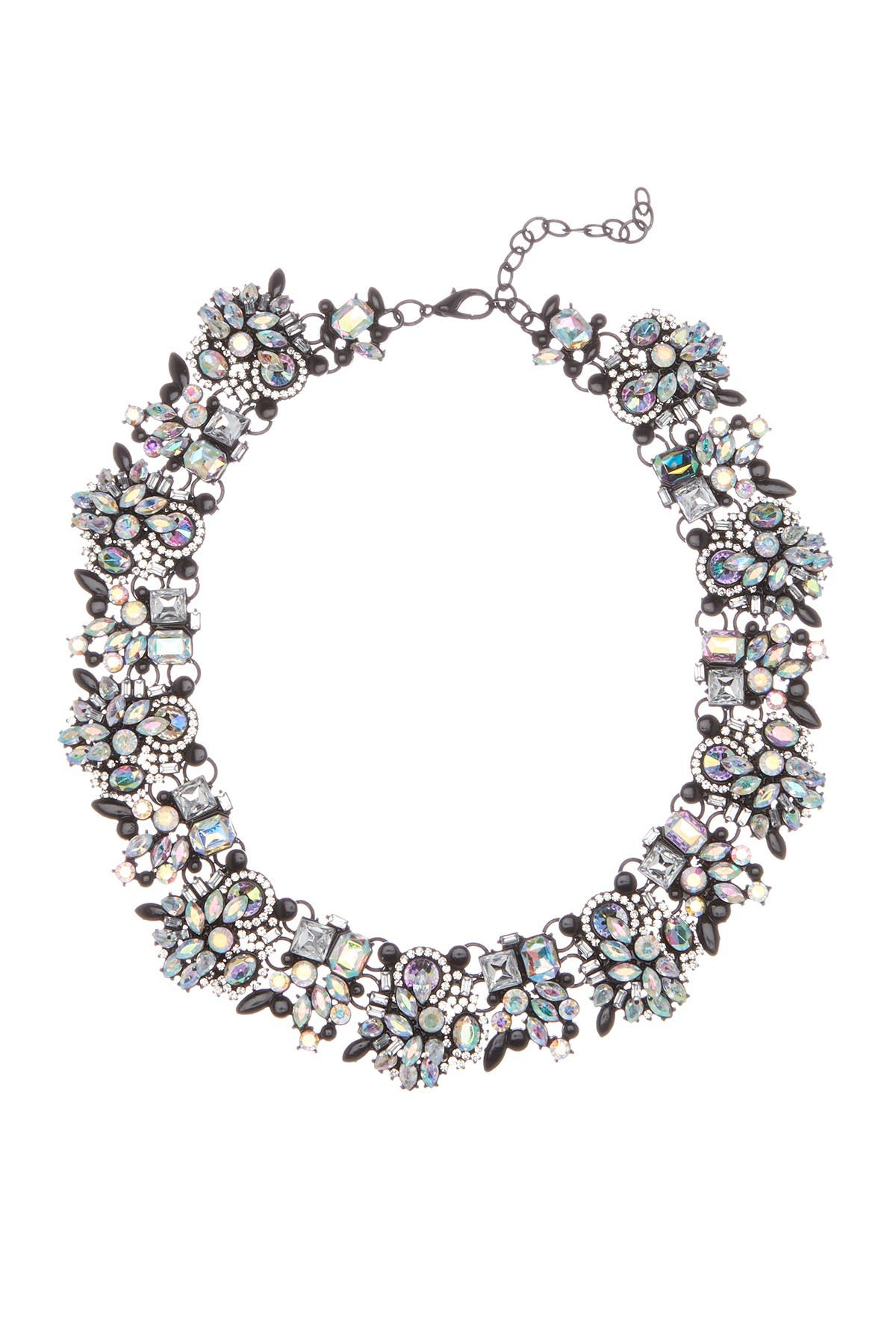 Image of Eye Candy Los Angeles Ivy Wreath Statement Necklace