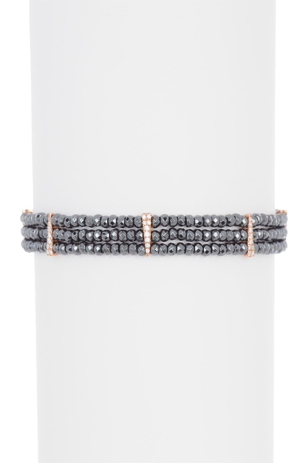 Pave Bar Bracelet Minimalistic Sparkly Pyrite Bracelet