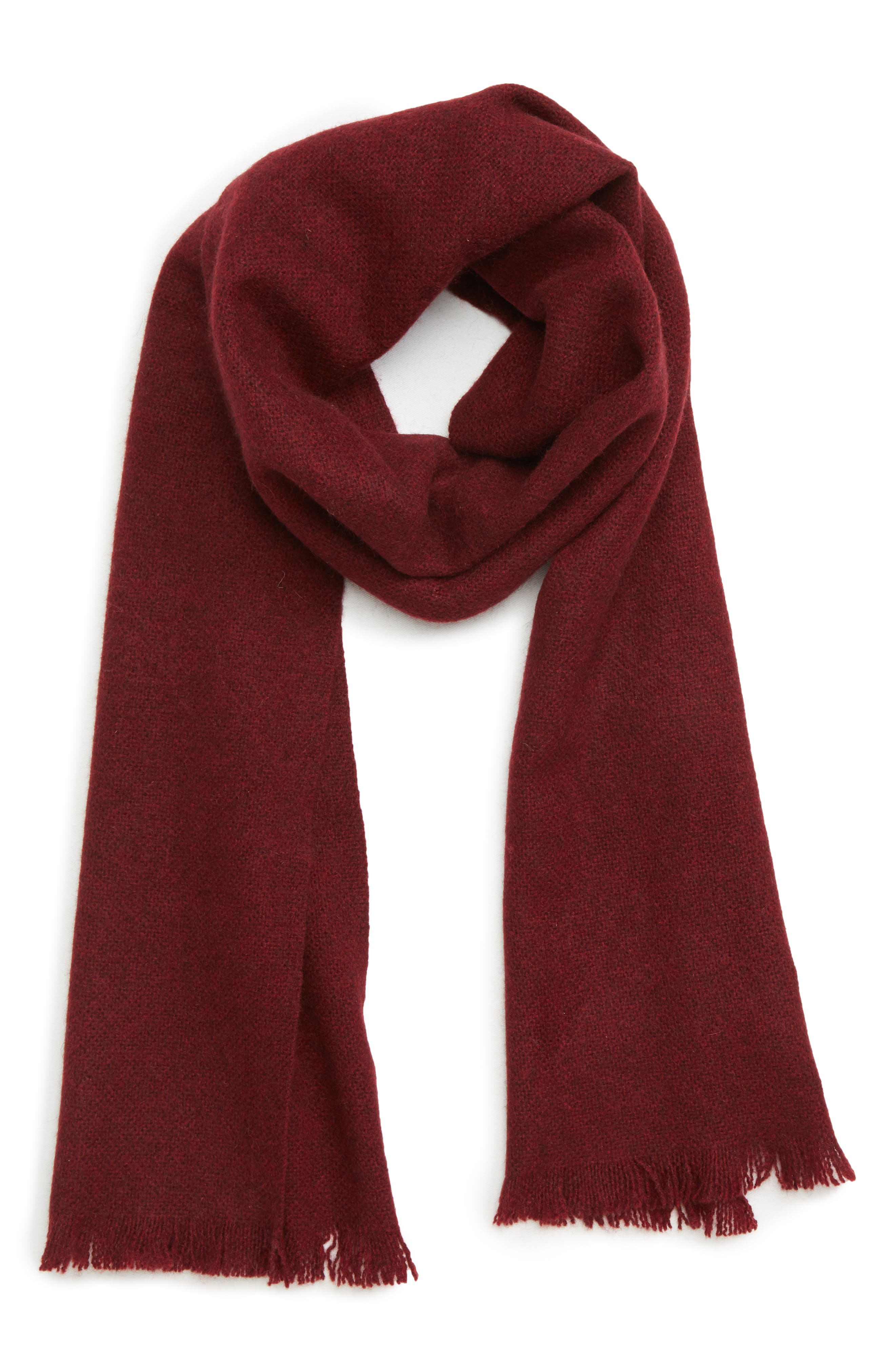 ,                             Solid Cashmere Scarf,                             Main thumbnail 9, color,                             601