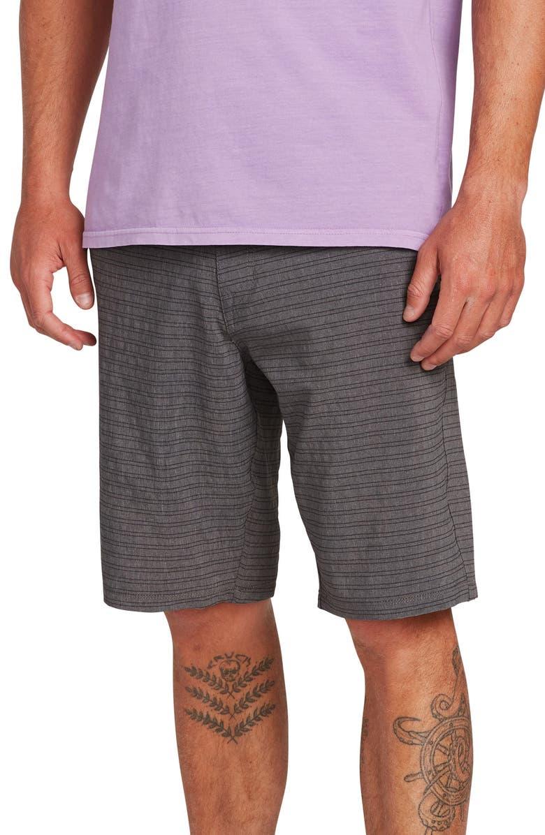 VOLCOM Frickin Surf N' Turf Mix Hybrid Shorts, Main, color, 004