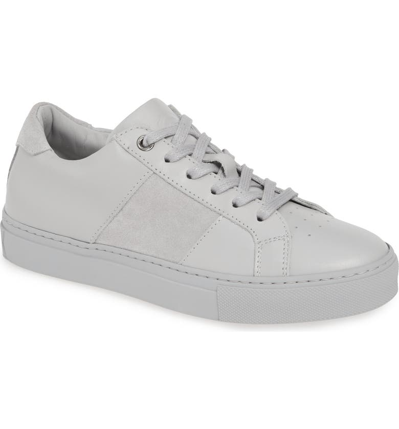 GREATS Royale Low Top Sneaker, Main, color, LIGHT GREY LEATHER