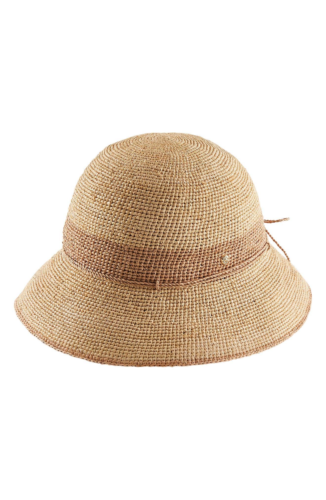 Amie 10 Crochet Raffia Hat