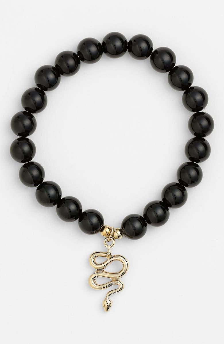 CARA Beaded Stretch Bracelet, Main, color, 001