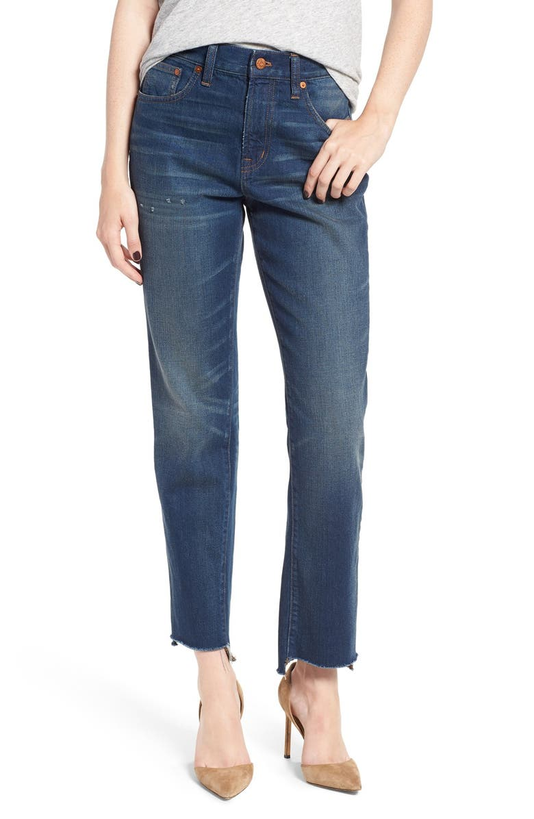 MADEWELL Perfect Vintage Step Hem Jeans, Main, color, 424