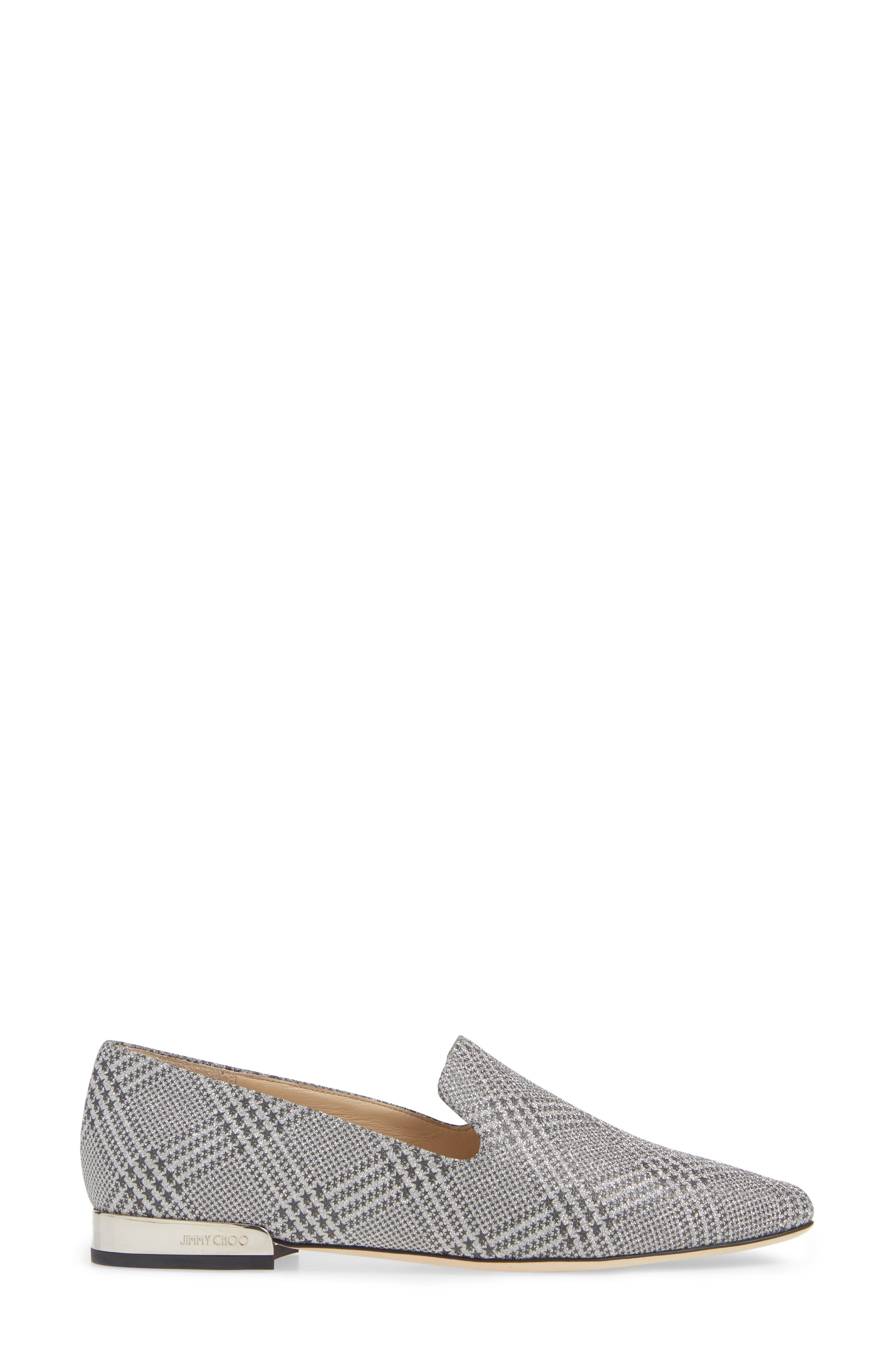 ,                             Jaida Loafer,                             Alternate thumbnail 3, color,                             SILVER