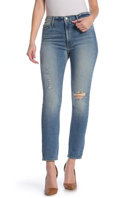 Image of Black Orchid Joan High Waist Straight Leg Jeans