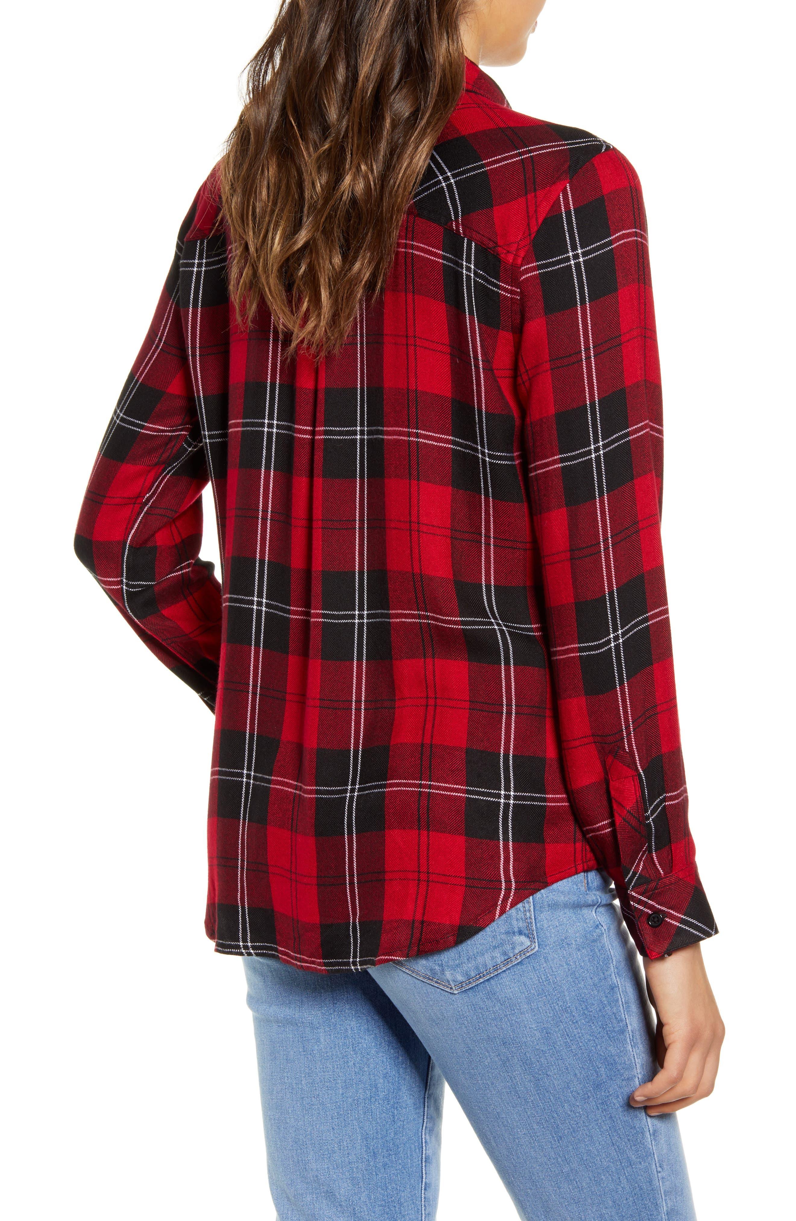 ,                             Hunter Plaid Shirt,                             Alternate thumbnail 416, color,                             602