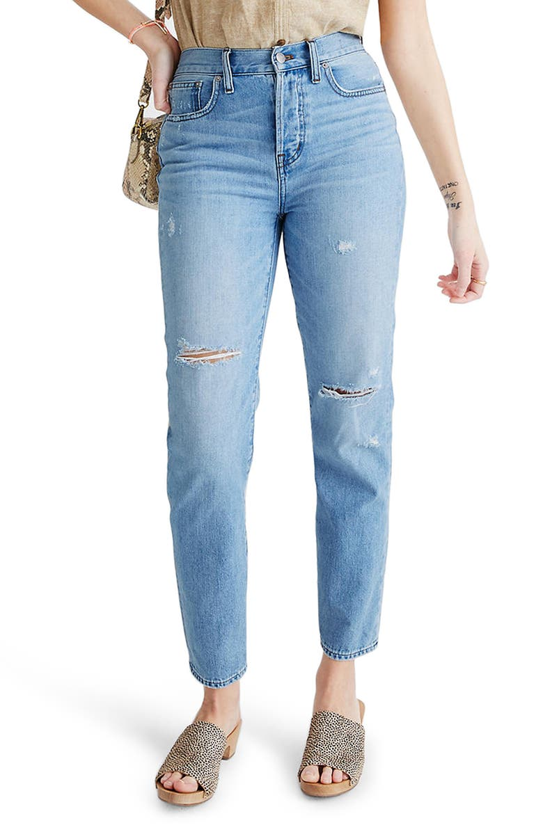 MADEWELL The Perfect Vintage Jean, Main, color, 400