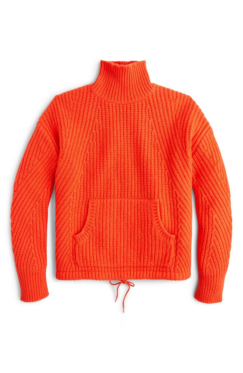 J.CREW Cozy Après-Ski Turtleneck Sweater, Main, color, 800