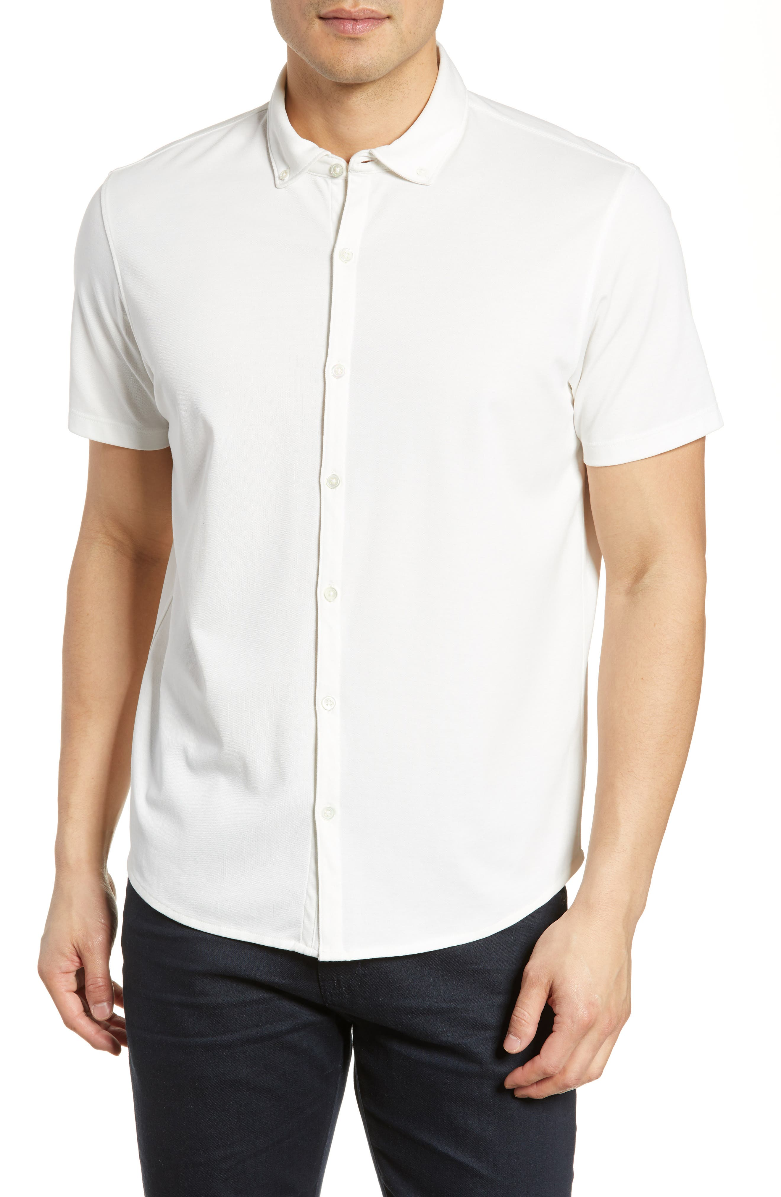 ,                             Caruth Regular Fit Short Sleeve Sport Shirt,                             Main thumbnail 13, color,                             100