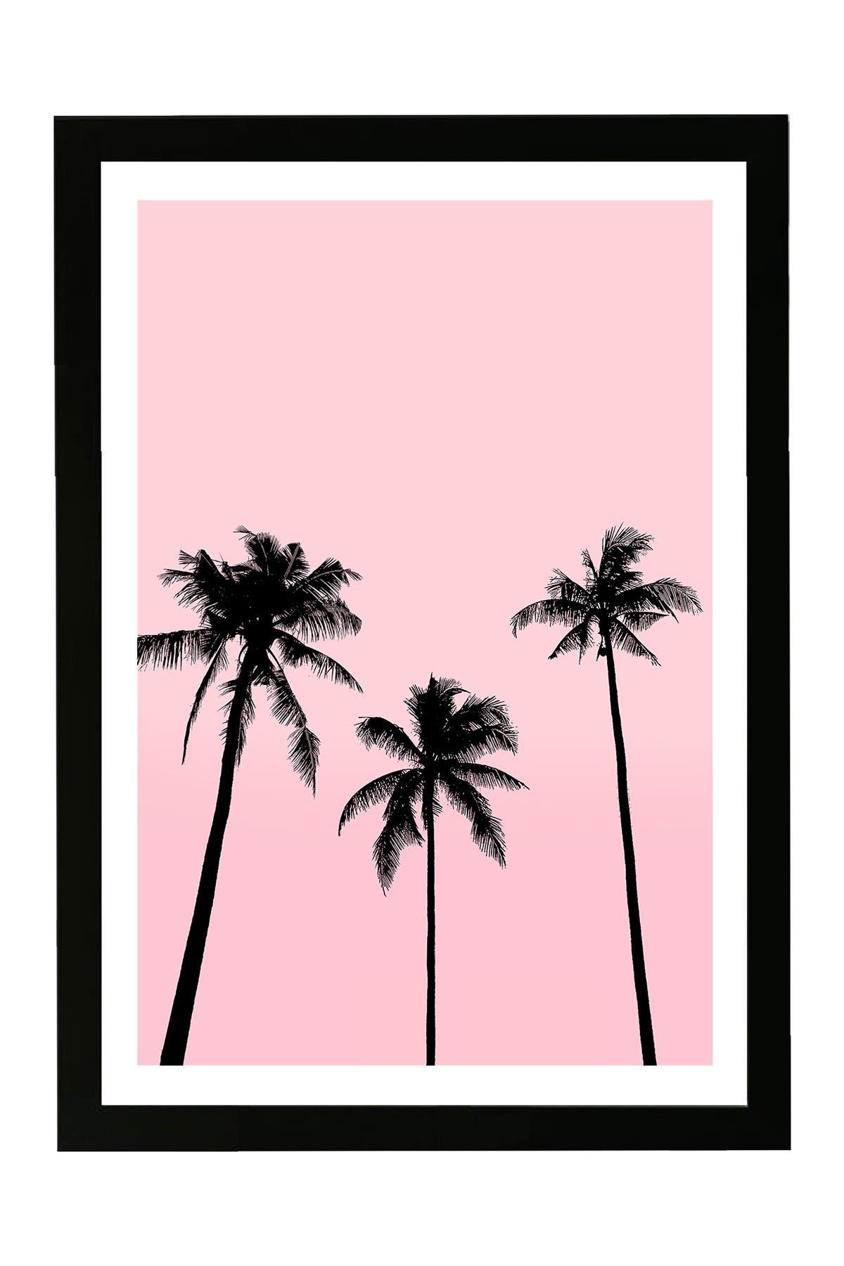 Wynwood Studio Palms in California Pink Framed Wall Art at Nordstrom Rack