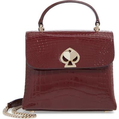 Kate Spade New York Romy Croc-Embossed Leather Top Handle Bag -