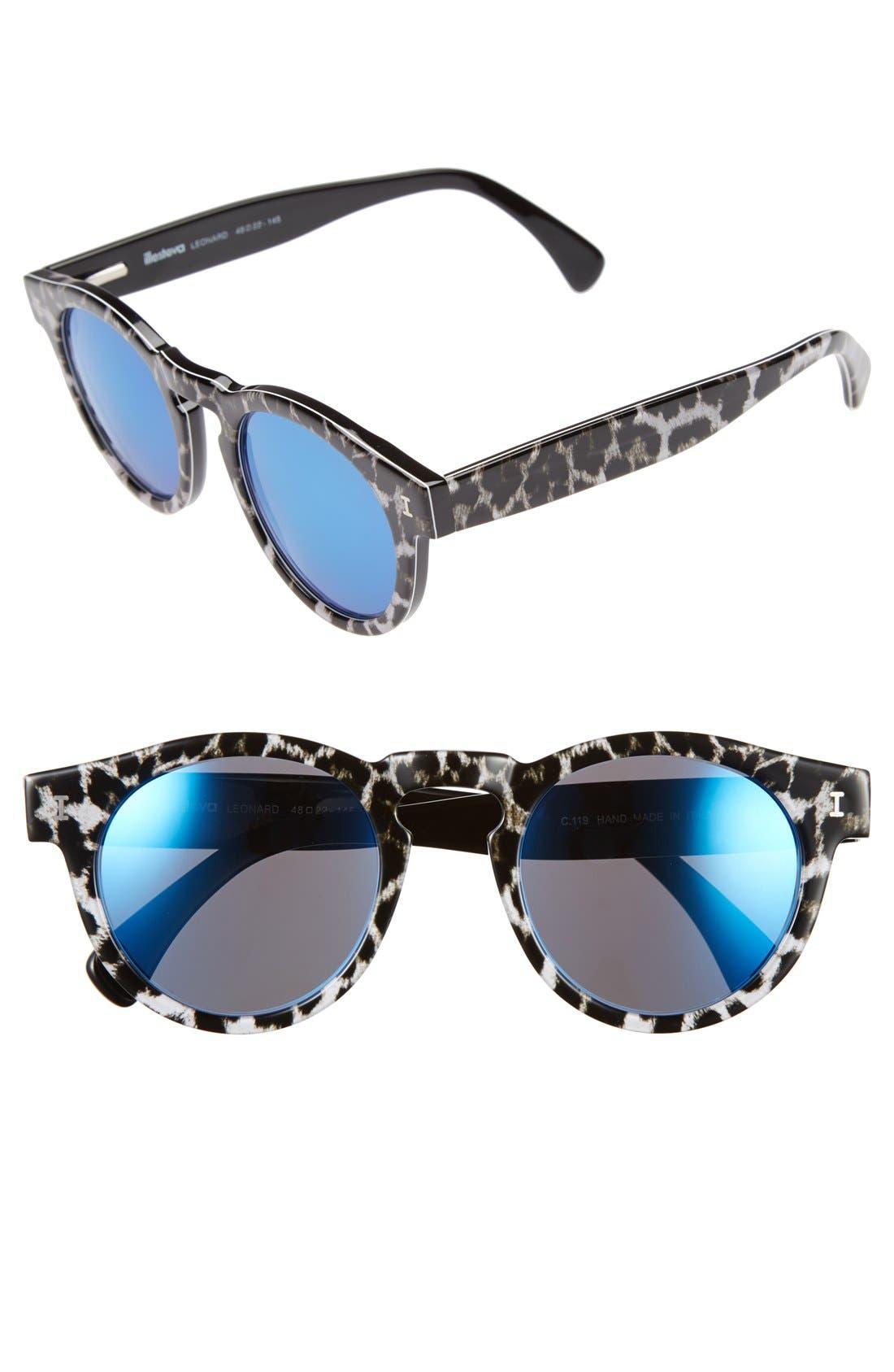 ,                             'Leonard' 47mm Sunglasses,                             Main thumbnail 7, color,                             004