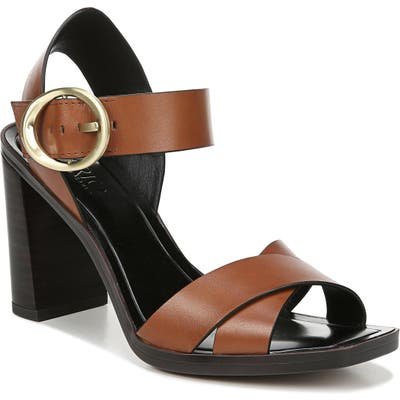 Sarto By Franco Sarto Willis Buckle Sandal- Brown