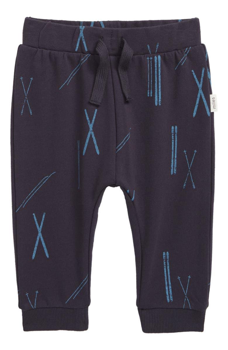 MILES baby Knit Jogger Pants, Main, color, 021