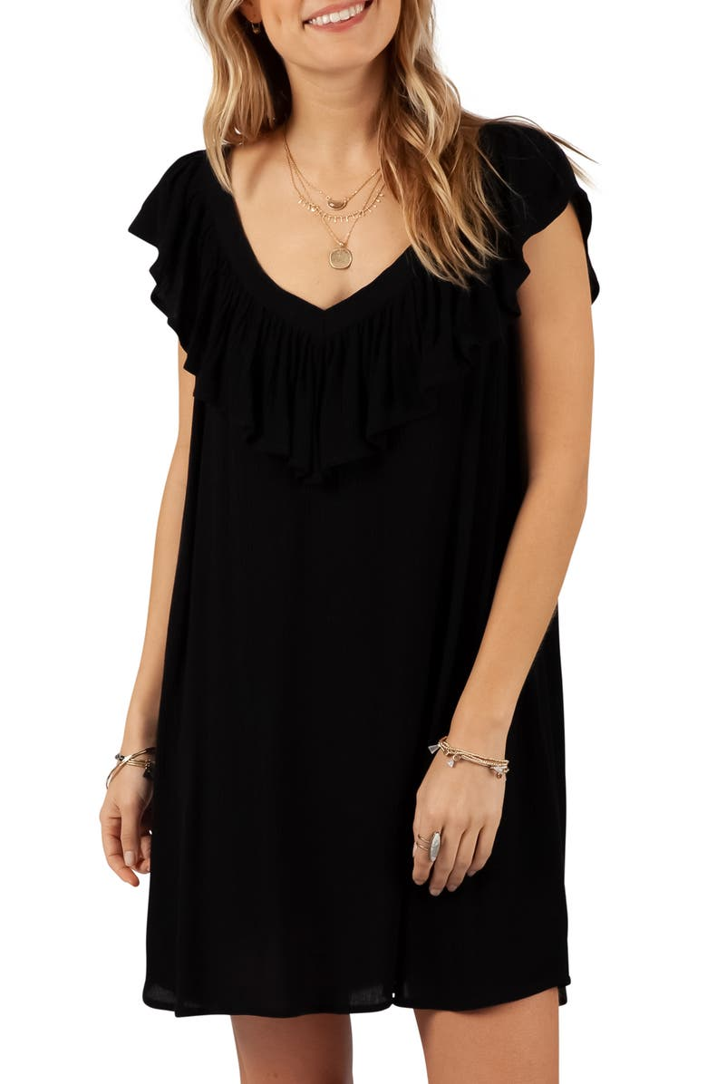 RIP CURL Classic Surf Cover-Up Dress, Main, color, 001