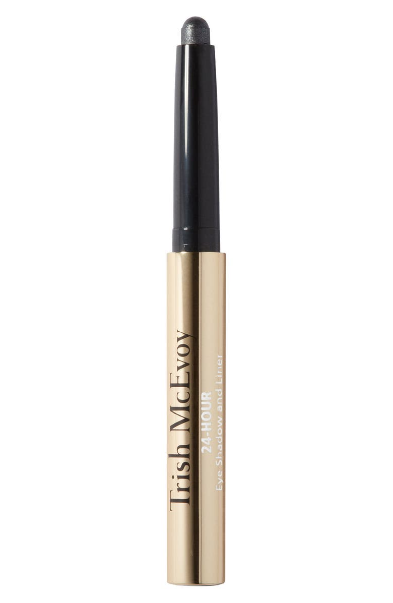 TRISH MCEVOY 24-Hour Eyeshadow & Eyeliner, Main, color, CRYSTAL GREY