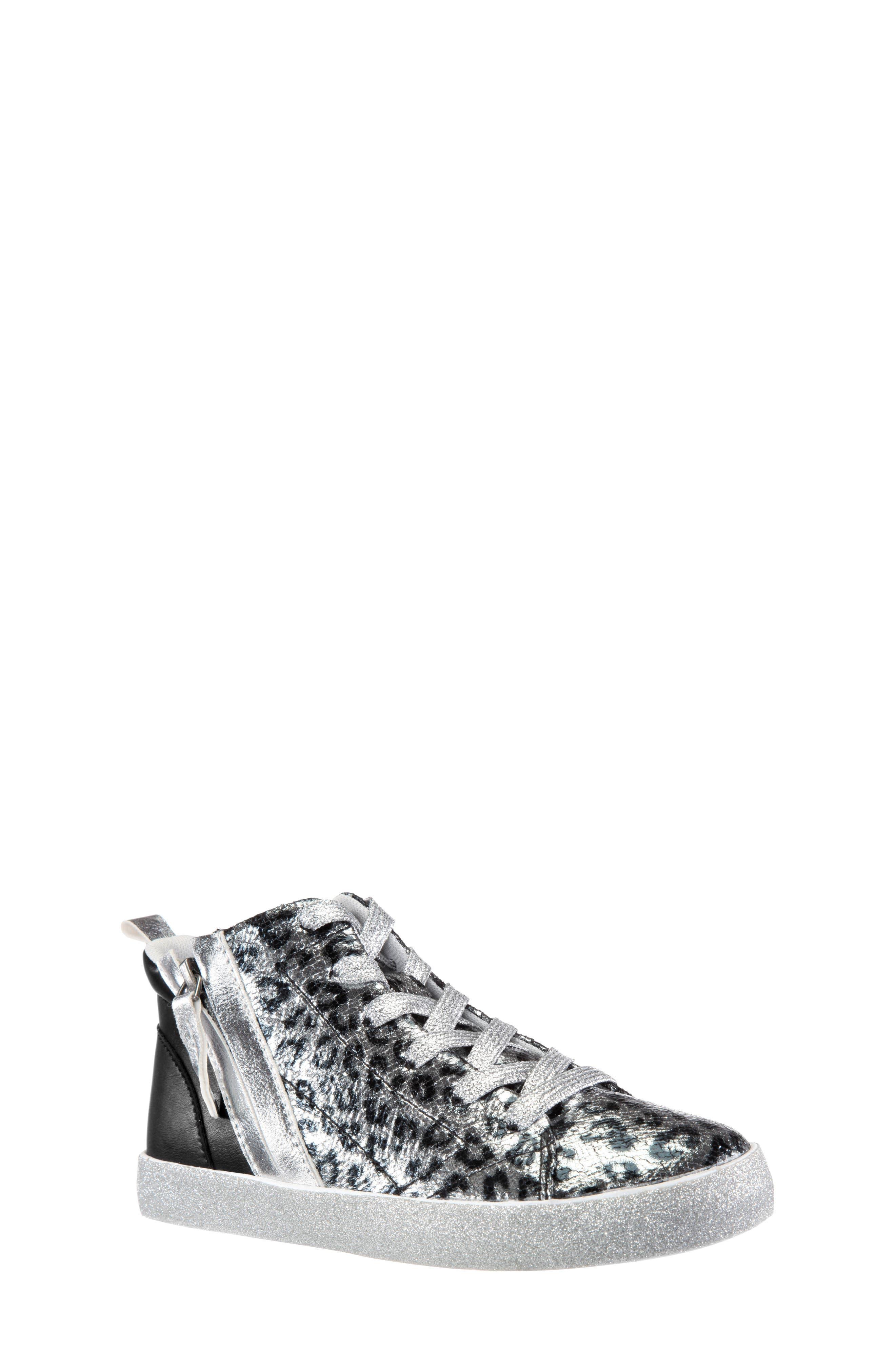 Toddler Girls Nina Jossie2 Metallic Leopard Print High Top Sneaker Size 9 M  Metallic