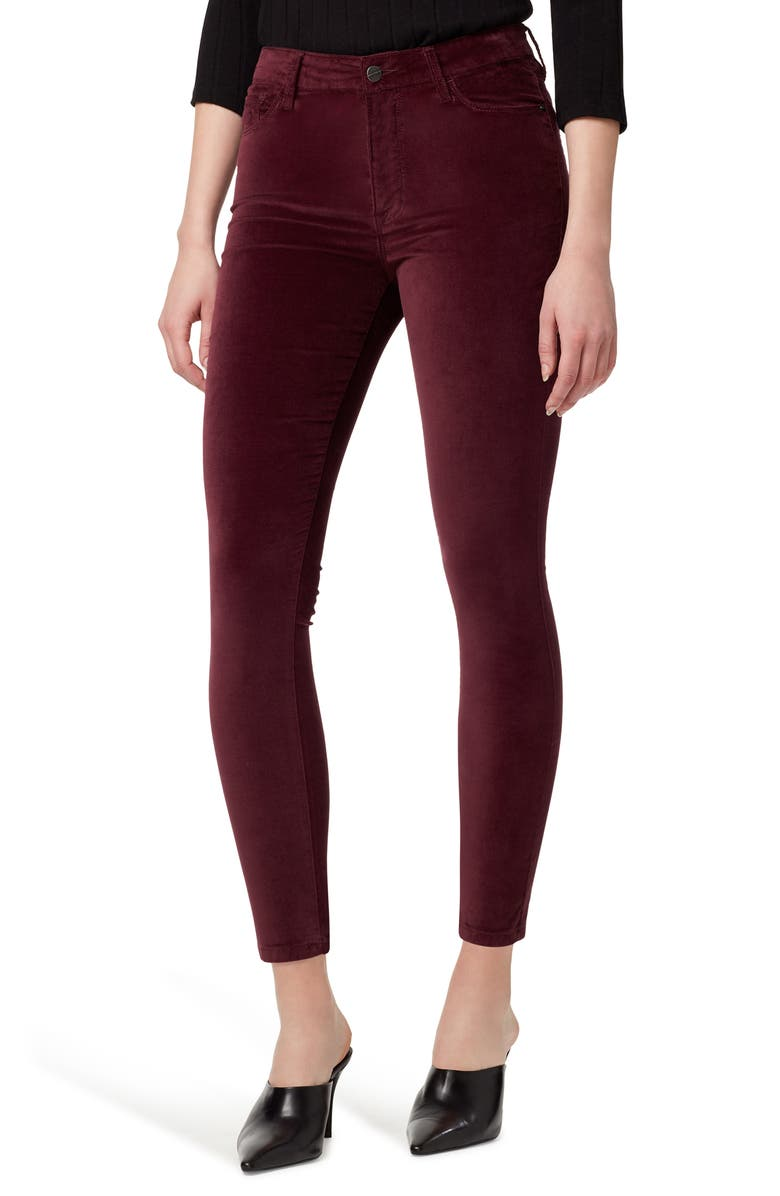 SANCTUARY Social Standard Colored High Waist Ankle Skinny Jeans, Main, color, AMETHYST