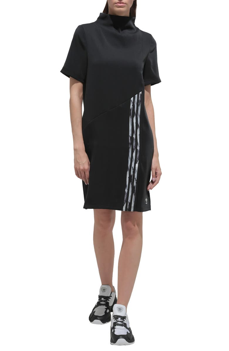 ADIDAS ORIGINALS Daniëlle Cathari Dress, Main, color, BLACK/ CHALK WHITE