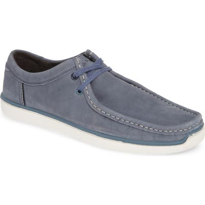 Hush Puppies Toby Moc Toe Derby- Blue