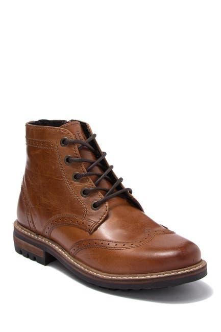 Image of Crevo Tristen Leather Wingtip Boot