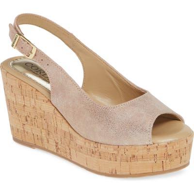 Cordani Janey Wedge Sandal - Pink