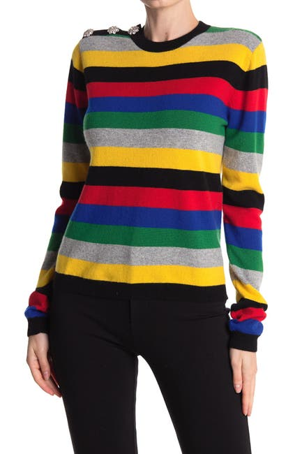 Image of GANNI Cashmere Knit Pullover