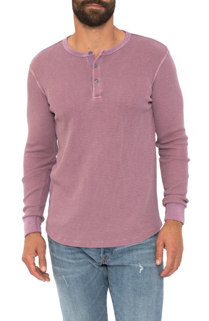Sol Angeles LONG SLEEVE THERMAL HENLEY