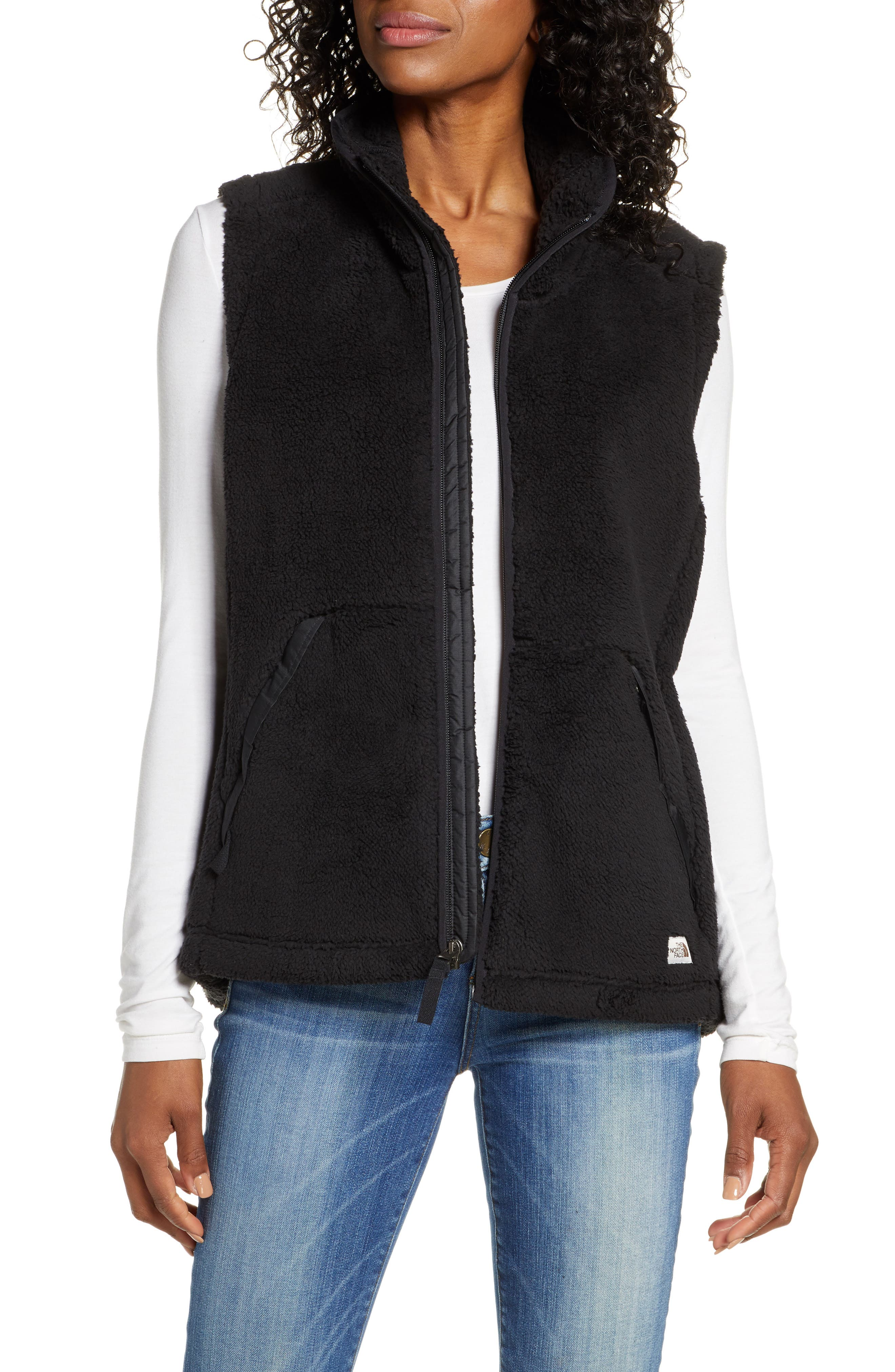 The North Face Campshire 2.0 Faux Fur Vest
