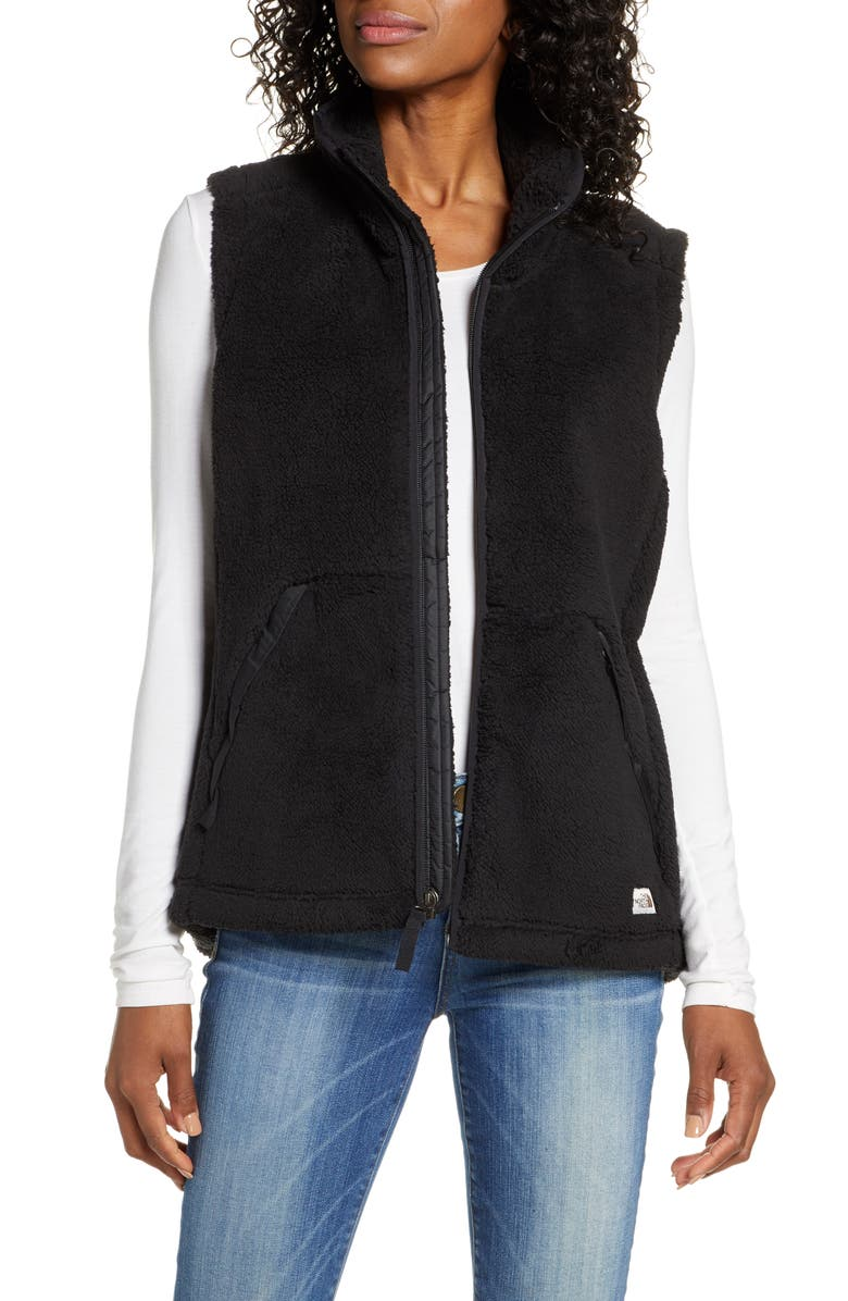 THE NORTH FACE Campshire 2.0 Fleece Vest, Main, color, TNF BLACK