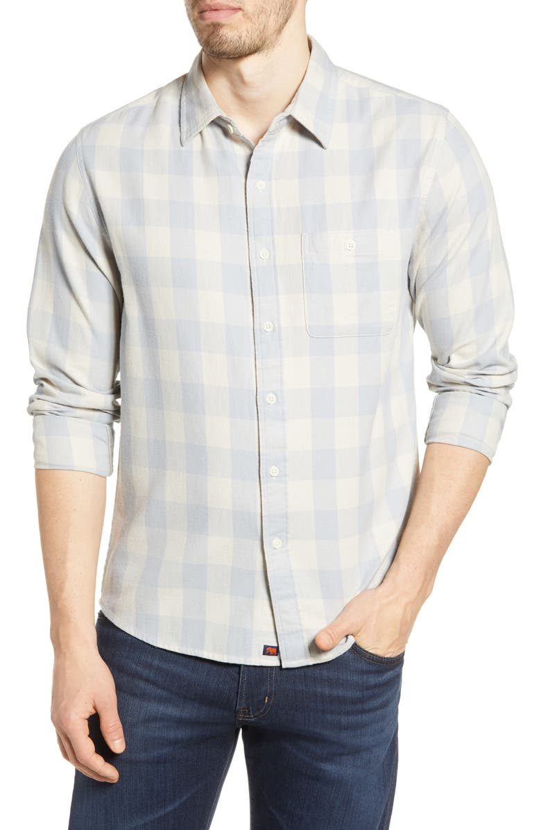 THE NORMAL BRAND Jackson Buffalo Check Flannel Button-Up Shirt, Main, color, 060