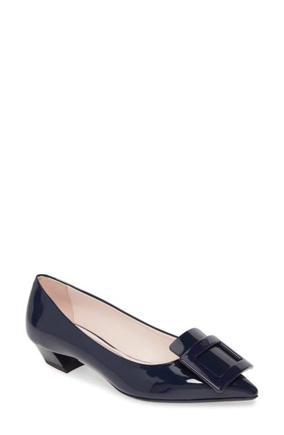 Roger Vivier Pumps Gommettine Buckle Pointed Toe Pump