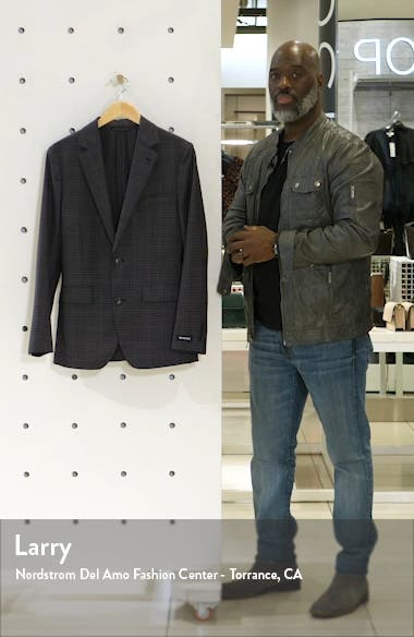 Unconstructed Slim Fit Wool Blazer, sales video thumbnail