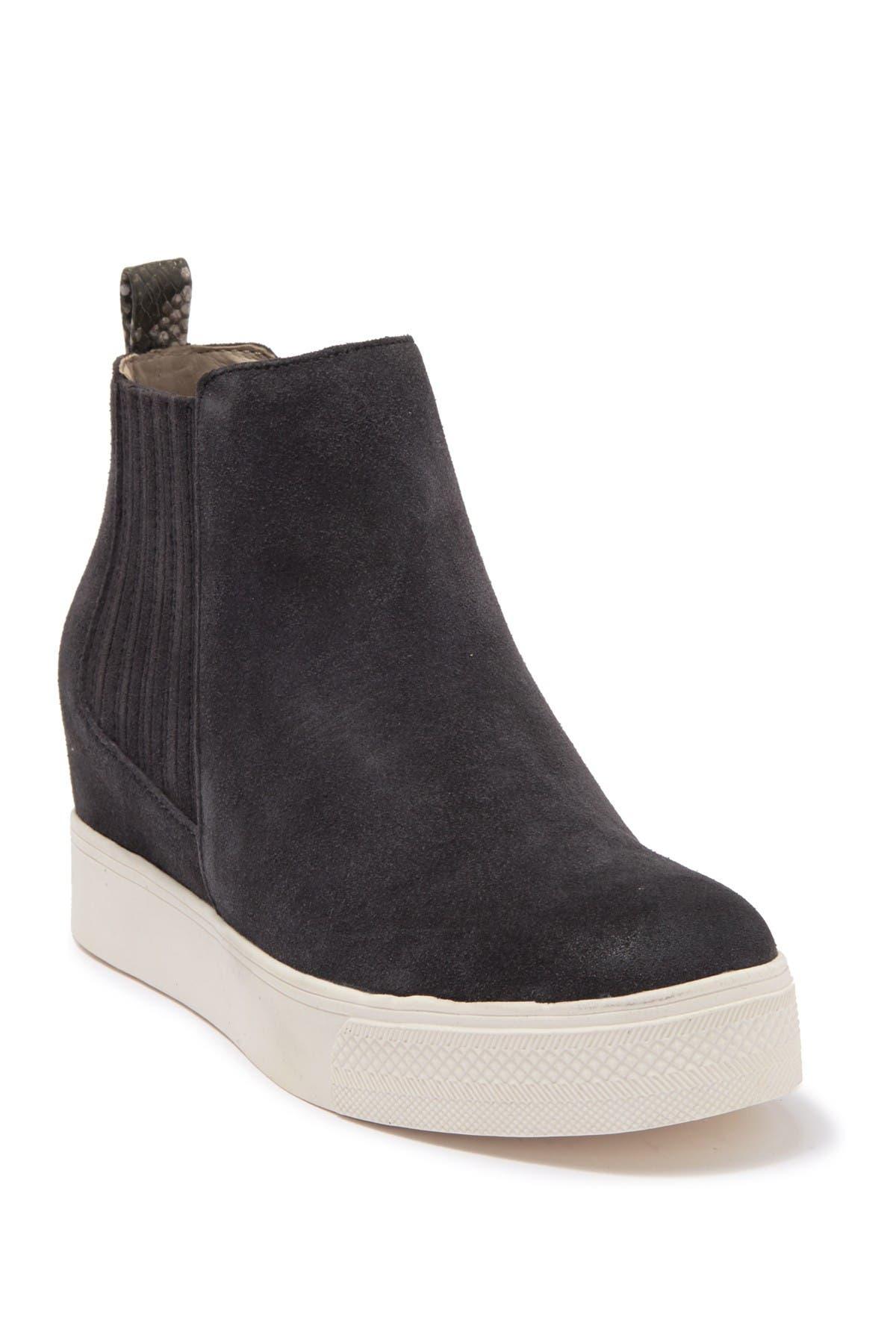 Image of DV Footwear Wesly Suede Wedge Sneaker