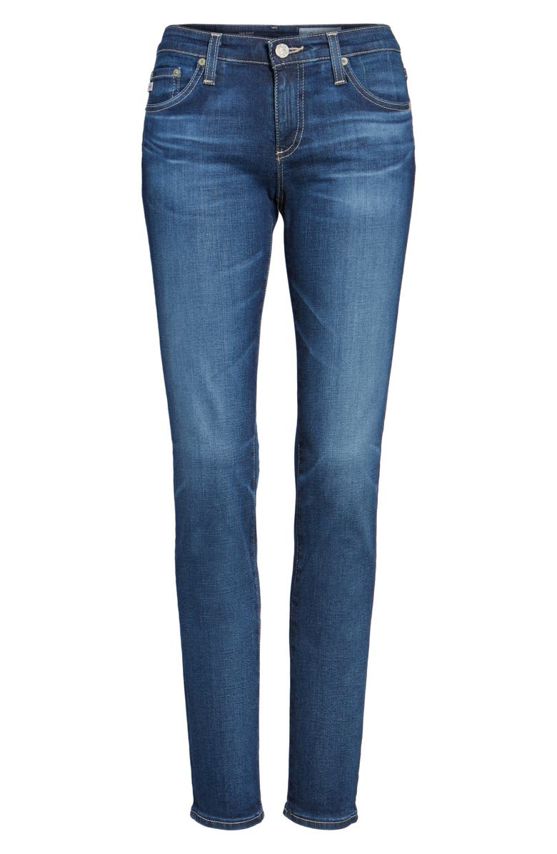 AG 'The Stilt' Cigarette Leg Jeans, Main, color, 401