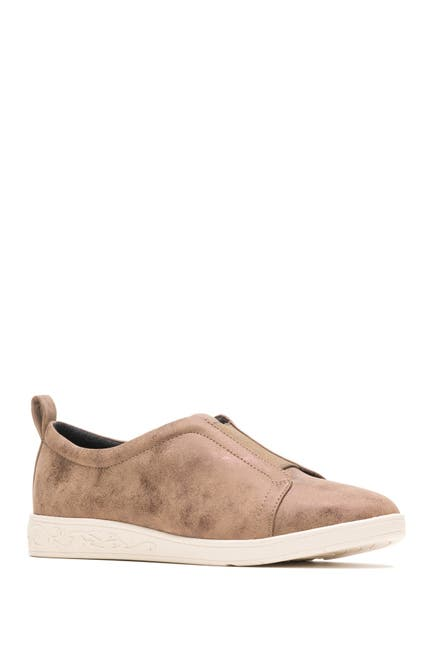 Image of Hush Puppies Parisa Faux Suede Slip-On Sneaker - Wide Width Available